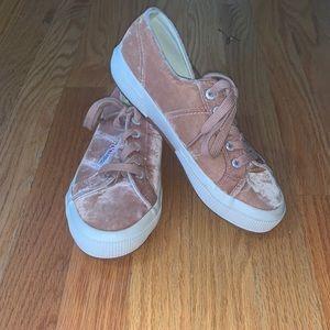 Superga Velour Sneakers